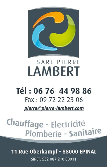 Plombier Electricien Pierre Lambert Epinal